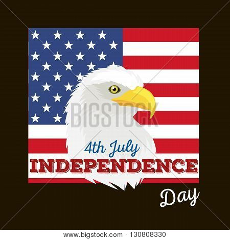 Happy 4th of July - Independence Day Vector Design - July Fourth