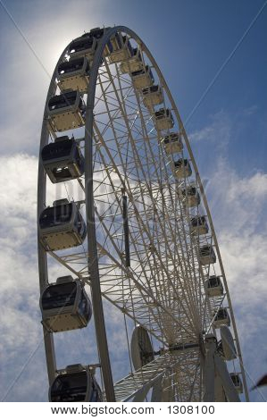 Ferris Wheel In The Sun