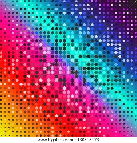 Dark red purple blue color Light Abstract pixels Technology background for computer graphic website internet. circuit board. text box. Mosaic, table. Vector