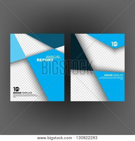 abstract flat layout marketing business corporate design template. eps10 vector