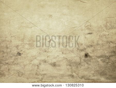 Aging stained paper background for the design.