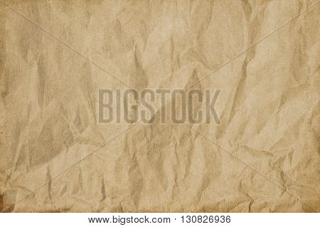 Aging crumpled paper background for the design.