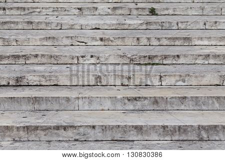 Close Up On Granite Stairs