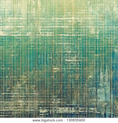 Grunge background or texture with vintage frame design and different color patterns: yellow (beige); brown; green; blue; gray; cyan