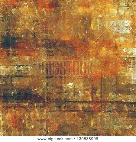 Grunge vintage template or antique background with different color patterns: yellow (beige); brown; red (orange); gray; pink