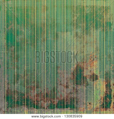Vintage style shabby texture or background with classy grungy elements and different color patterns: yellow (beige); brown; green; gray
