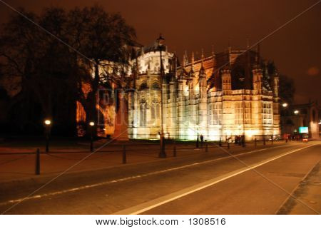 Westminister Abbey At Night