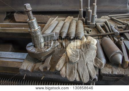Work Gloves And Tools