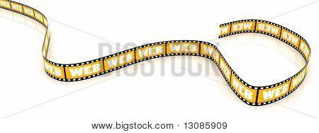Colored WEB film