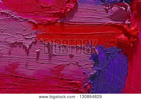 Smudged colourful lipstick background