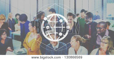 Networking Communication Interaction Net Graphic Concept