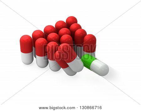 Pills And Correct Treatemnt