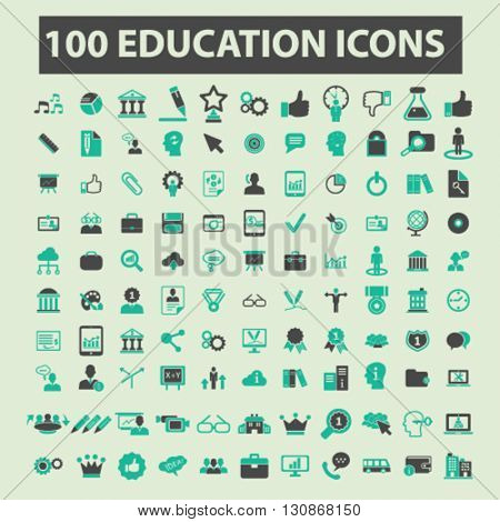 education icons