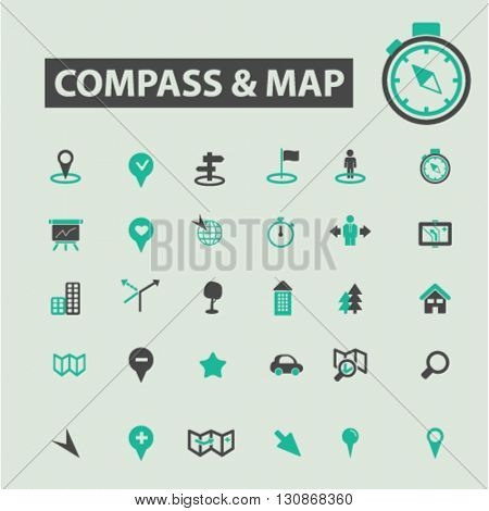 compass map icons