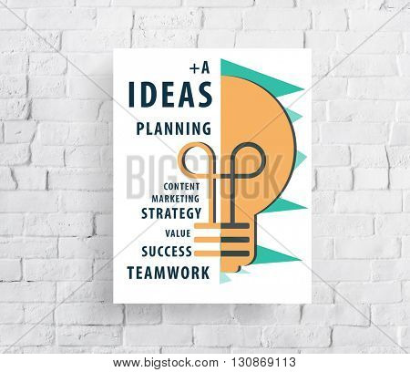 Ideas Idea Vision Design Plan Objective Mission Concept