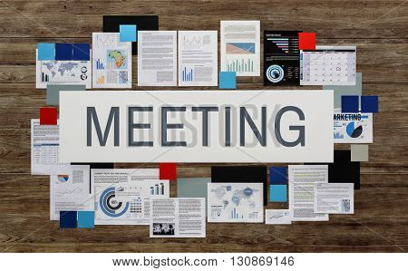 Meeting Conference Talking Discussion Concept