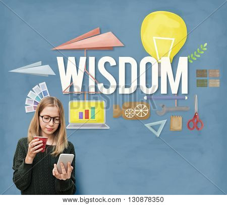 Wisdom Knowledge Intelligence Education Insight Concept