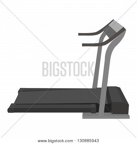 Vector flat illustration of treadmill. Vector element for your design and infographics