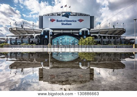 charlotte nc - April 12 2016 - panthers nfl stadium