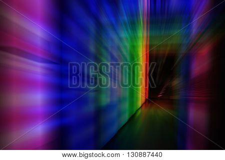 Door In The Color Night