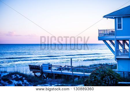 destin city of florida and beach scenes
