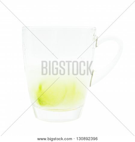 Lime Soda Tonic  Refreshment On Glass