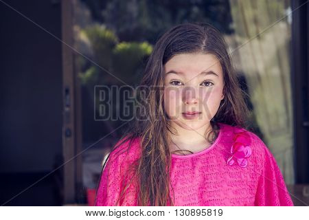 10-11 year old girl