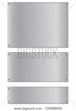 Metal background. Stainless and silver steel background. Abstract Background.