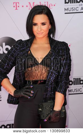 Demi Lovato at the 2016 Billboard Music Awards held at T-Mobile Arena in Las Vegas, USA on May 22, 2016.