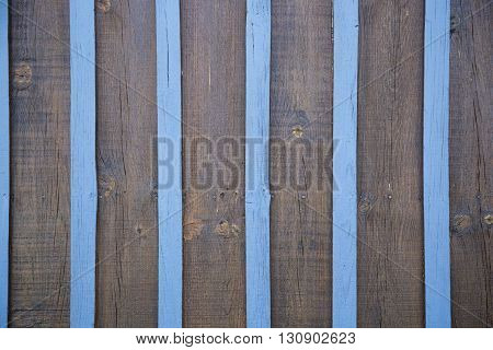 Texture Of Wood Blue And Brown Panel For Background Vertical