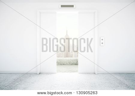 Elevator Ny View