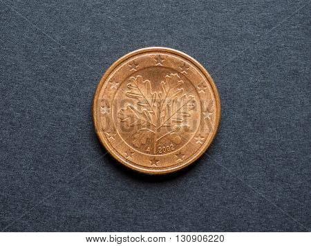 Five Cent Euro Coin