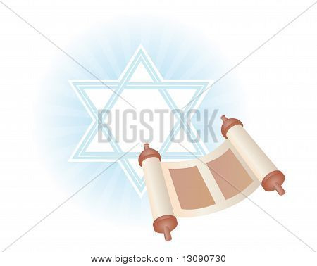 Background Of Jewish Holiday Simchat Torah