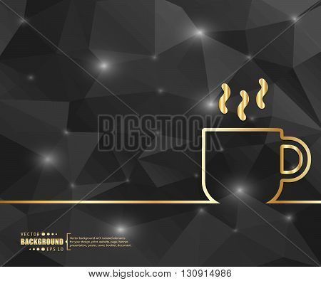 Abstract creative concept vector background. For web and mobile applications, illustration template design, business infographic, brochure, banner, booklet, document.