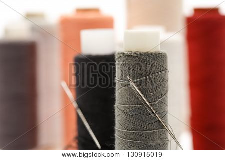 Thread Bobbins And Needles