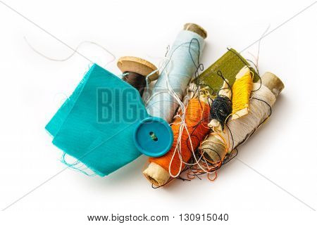 Sewing Items With Thread Bobbins