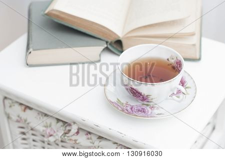 Breakfast With Books And Tea
