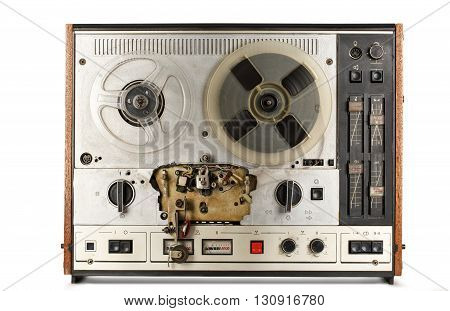 Old Reel Tape Recorder