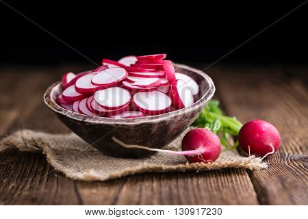 Radishes (chopped)