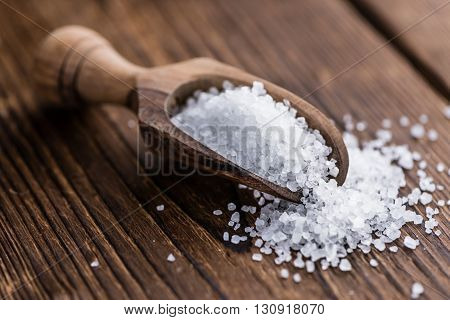 Heap Of Coarse Salt