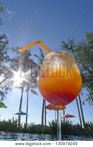 Tequila Sunrise At Seaside Kho Khood Thailand