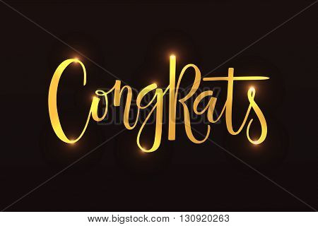 Congrats Postcard, Card, Invitation, Banner Template