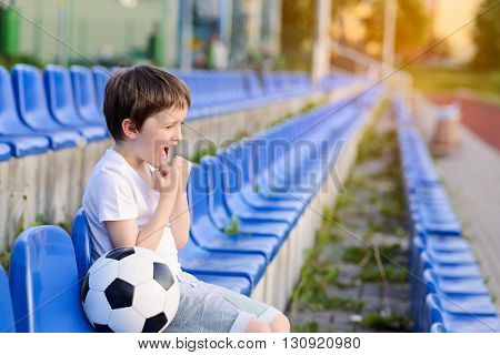 Little Football Fan