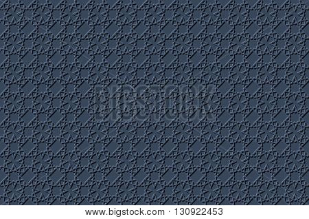 Islamic 3D Light Grey Background Architectural Muslim Texture.3D Template For Islamic Design.can Be