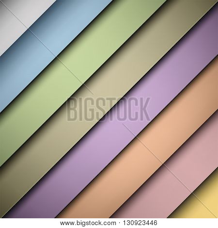 Vector illustration of colourfull geometric abstract background