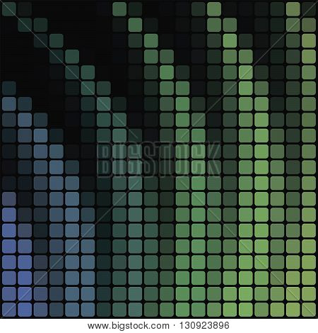 Vector illustration the colourfull geometric abstract background