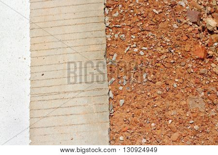 Brown Gravel Stone And The Roadbackground