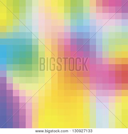 Vector illustration abstract colourfull background  fith square shapes
