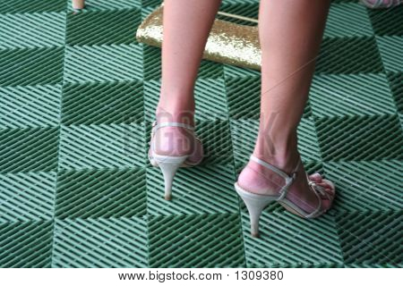 Summer Shoes On Grid