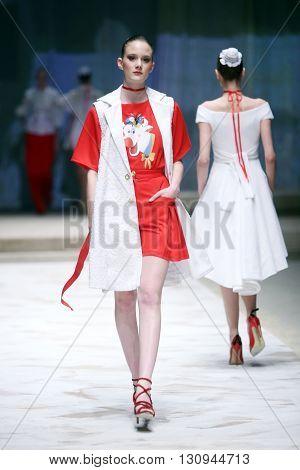 Cro A Porter Fashion Show : Twins By Begovic I Stimac, Zagreb, Croatia